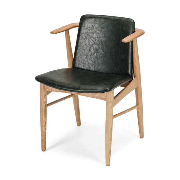 Flores Dining Chair - Olive Green *PREORDER* - Furniture and Homewares Upper Hutt