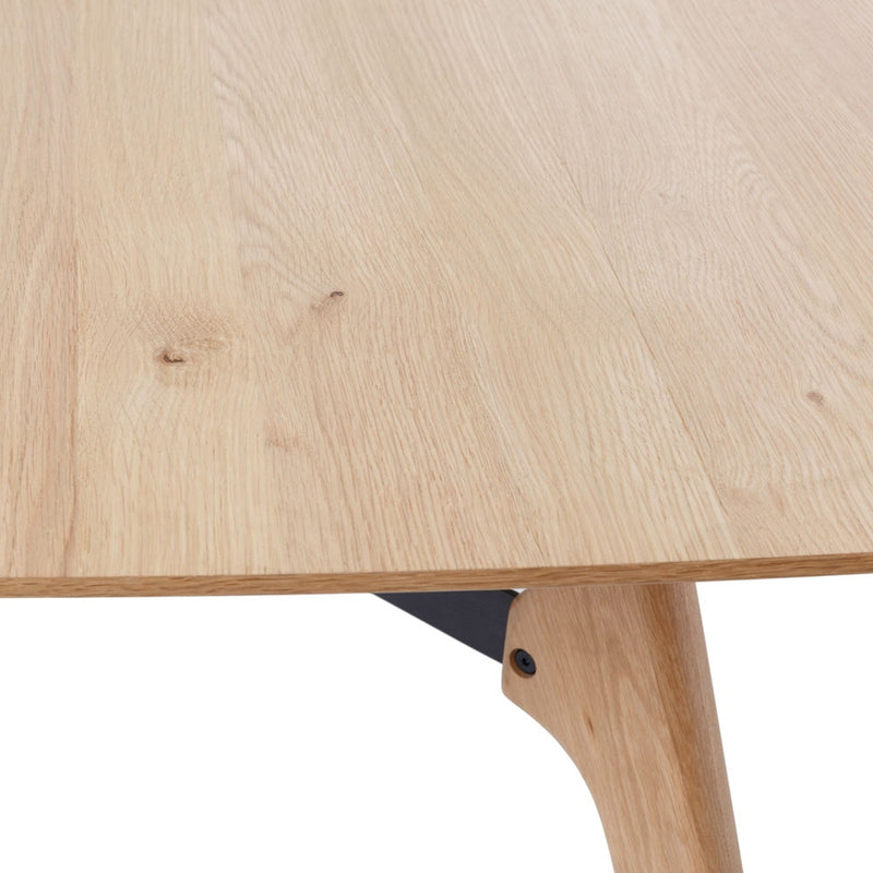 Flow Dining Table 130cm - Furniture and Homewares Upper Hutt