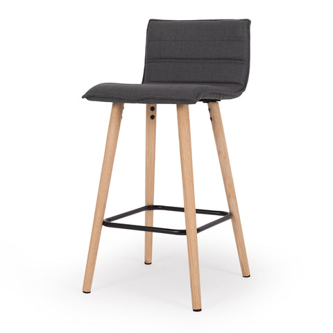 Liva Barstool Dark Grey