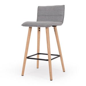Liva Barstool Light Grey
