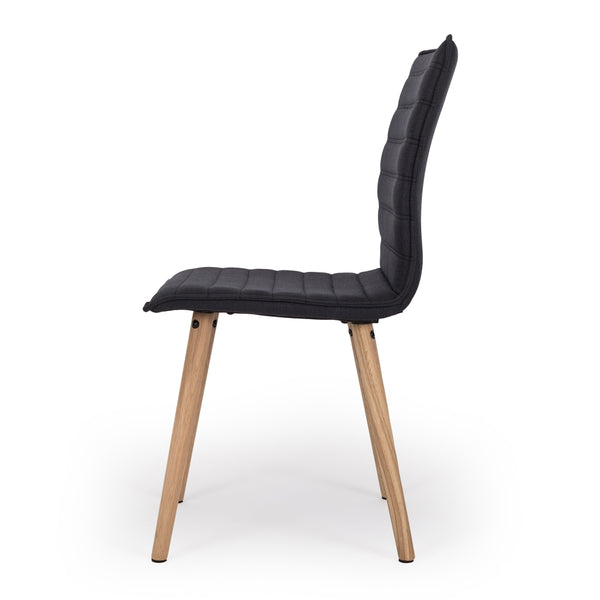 LIVA Dining Chair Black - Furniture and Homewares Upper Hutt
