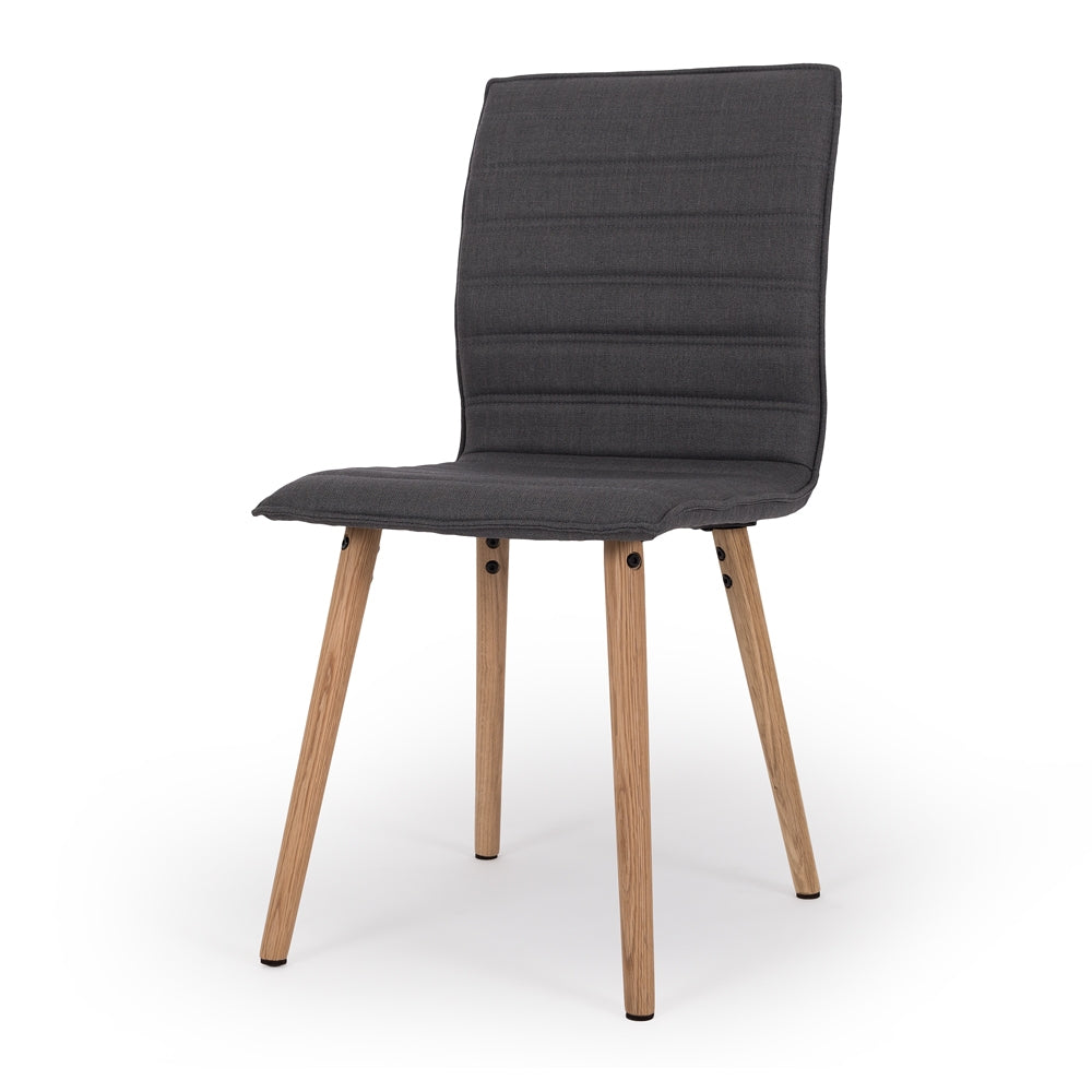 Liva Dining Chair Dark Grey - Furniture and Homewares Upper Hutt