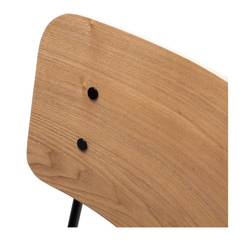 Lukas Dining Chair - Natural Panel