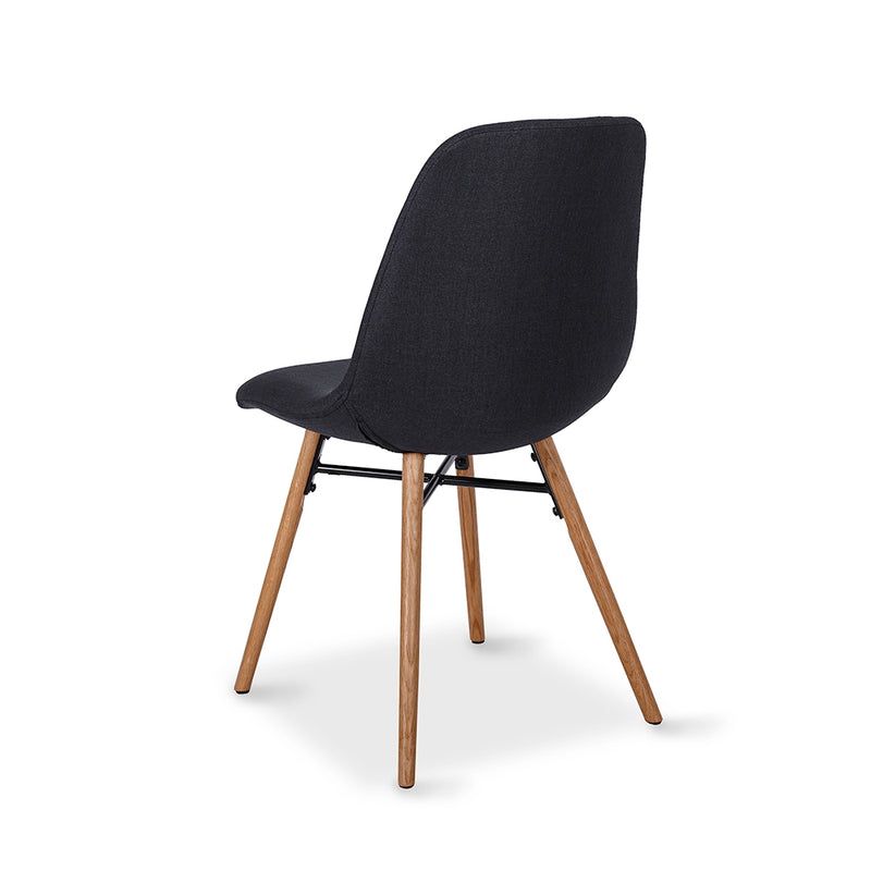 Flow Dining Chair - Black - Furniture and Homewares Upper Hutt