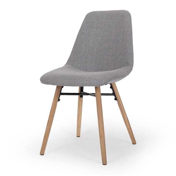 Flow Dining Chair - Light Grey - Furniture and Homewares Upper Hutt