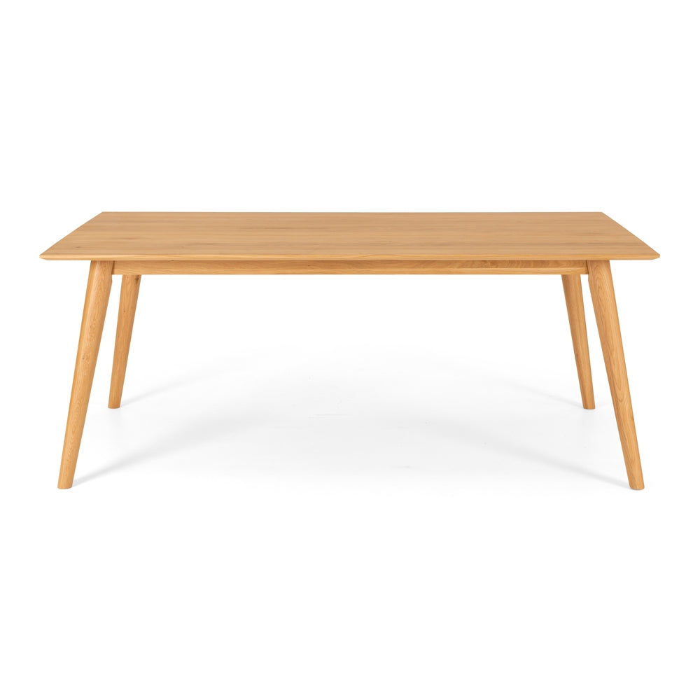 Nordik Solid Oak Dining Table