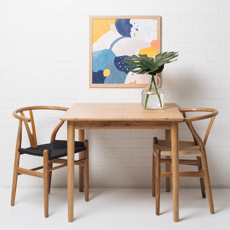 Nordik Extention Dining Table 90-130