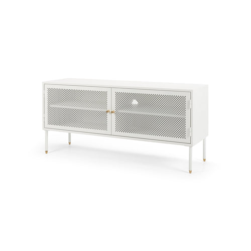 Dawn TV Unit 120 - White