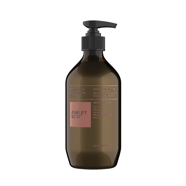Hand & Body Lotion - Peppy & Lucent