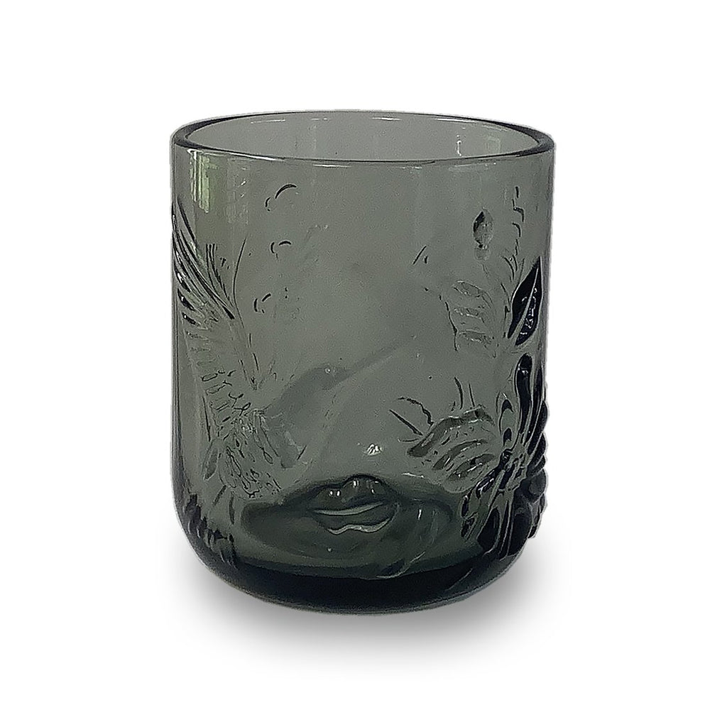 Drinking Glass - Grey Dusk Rainforest