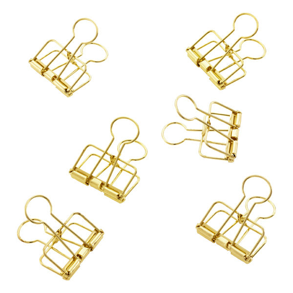 Bulldog Clip - Gold - Furniture and Homewares Upper Hutt