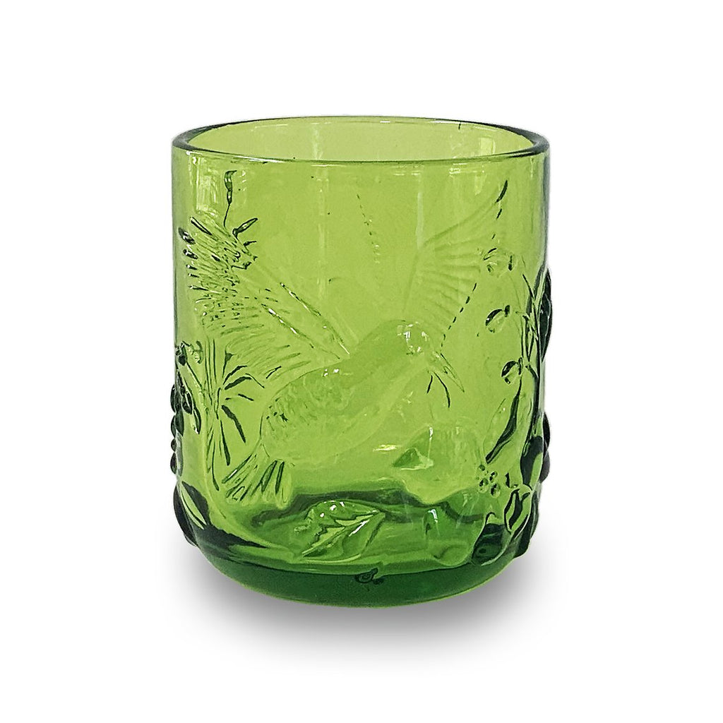 Drinking Glass - Green Rainforest