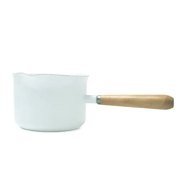 Enamel Gravy Maker - White