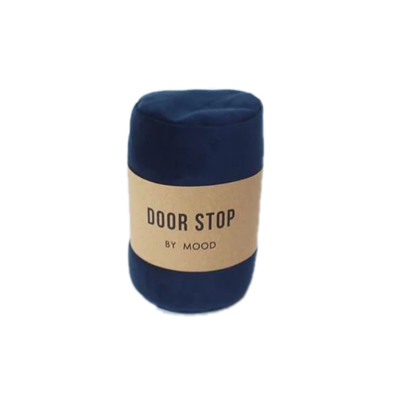 Door Stop - Navy Velvet - Furniture and Homewares Upper Hutt