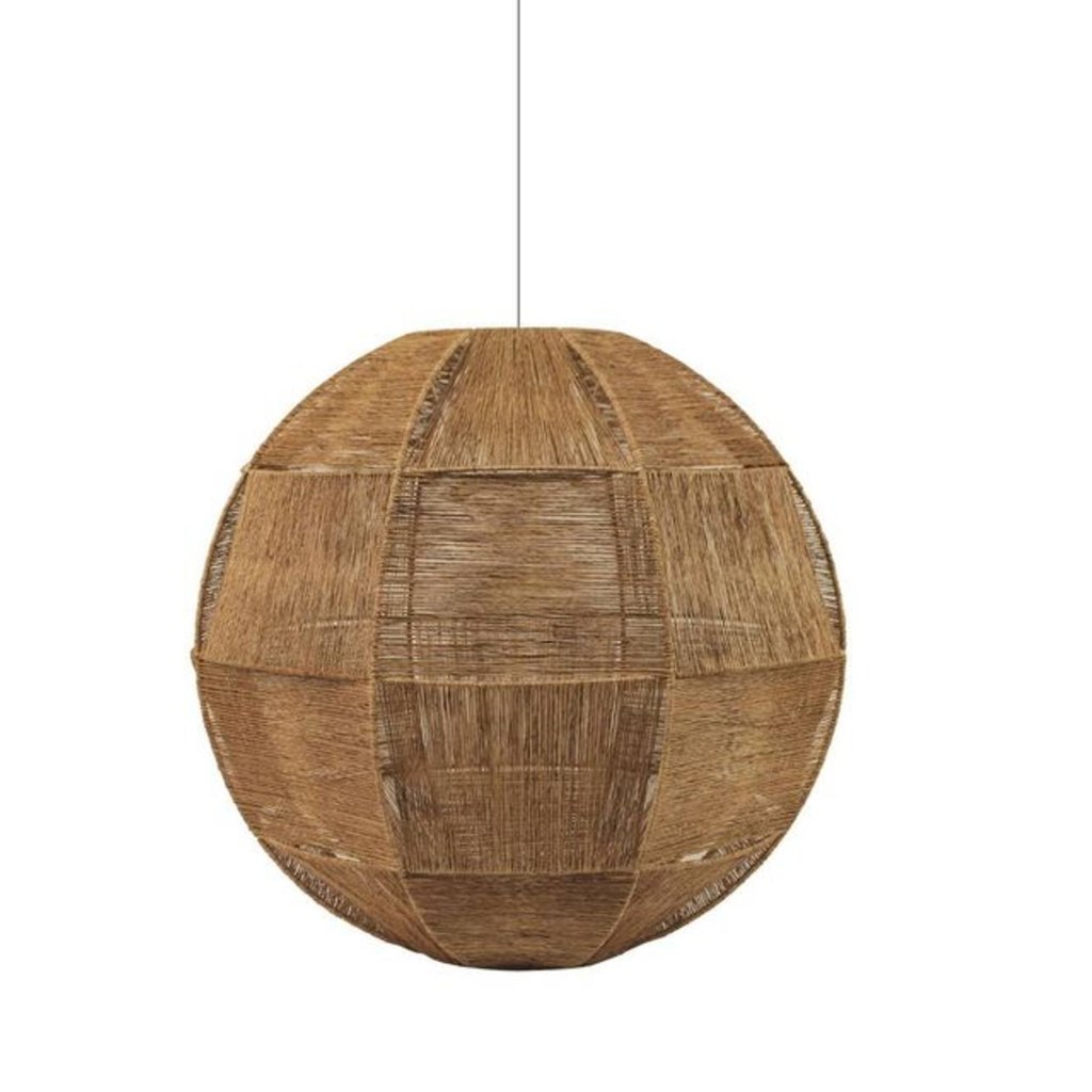 Jute Weave Lampshade - Natural - Furniture and Homewares Upper Hutt