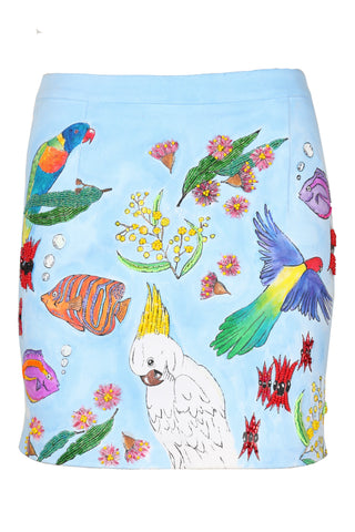 Port Douglas Australiana Mini Skirt