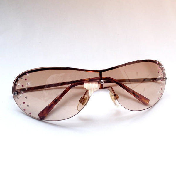 Vintage Y2K Diamante Sunglasses