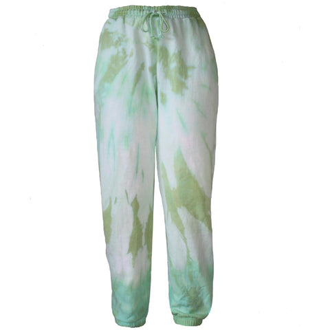 Seafoam Green Clouds Trackpants