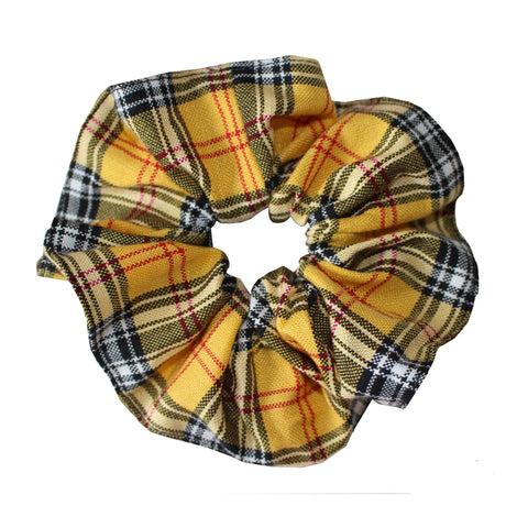Grant High Tartan Scrunchie