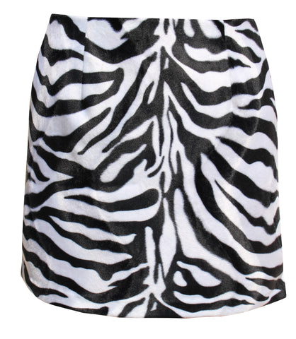 Roxbury Zebra Mini Skirt
