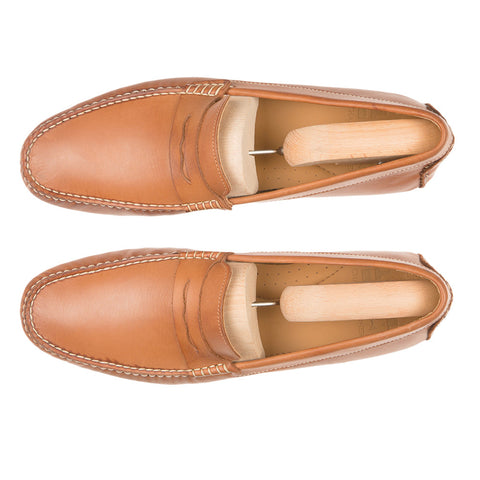Driving Shoe Type I - Camel