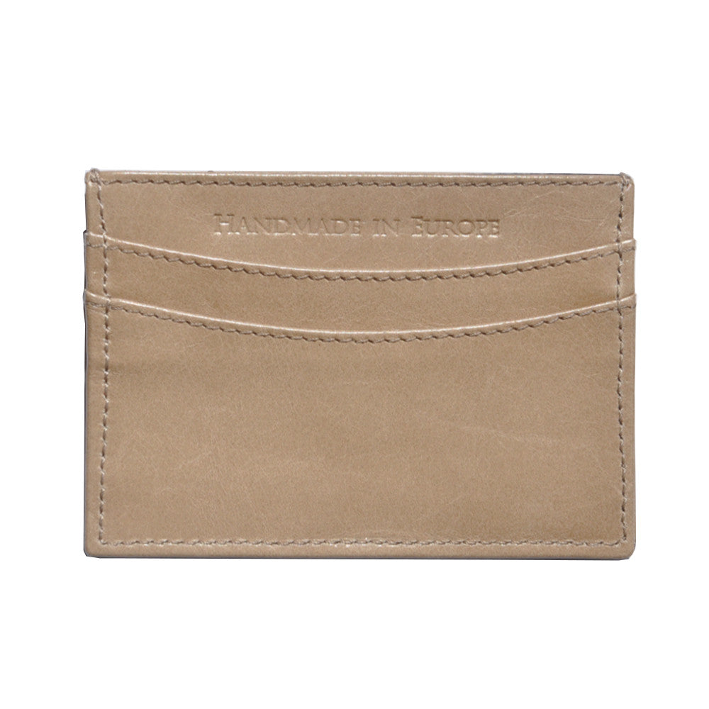 Waxed Calf Cardholder - Retriever