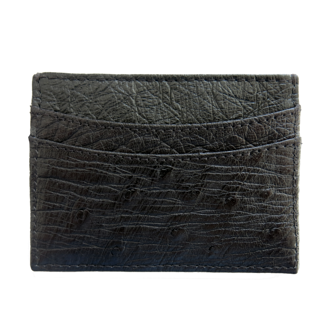 Ostrich Cardholder - Panther