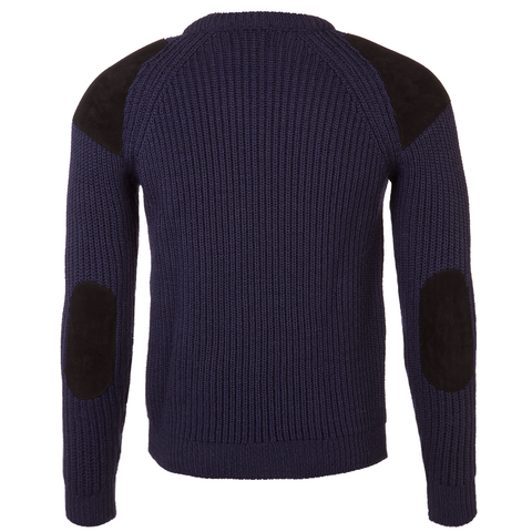 British Fisherman Jumper - Blue Marlin