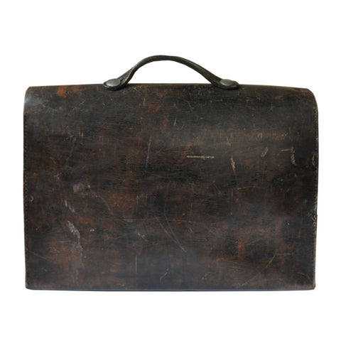 Vintage Briefcase - Brown