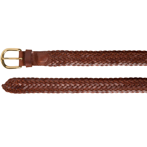 Woven Leather Belt (Eagle)