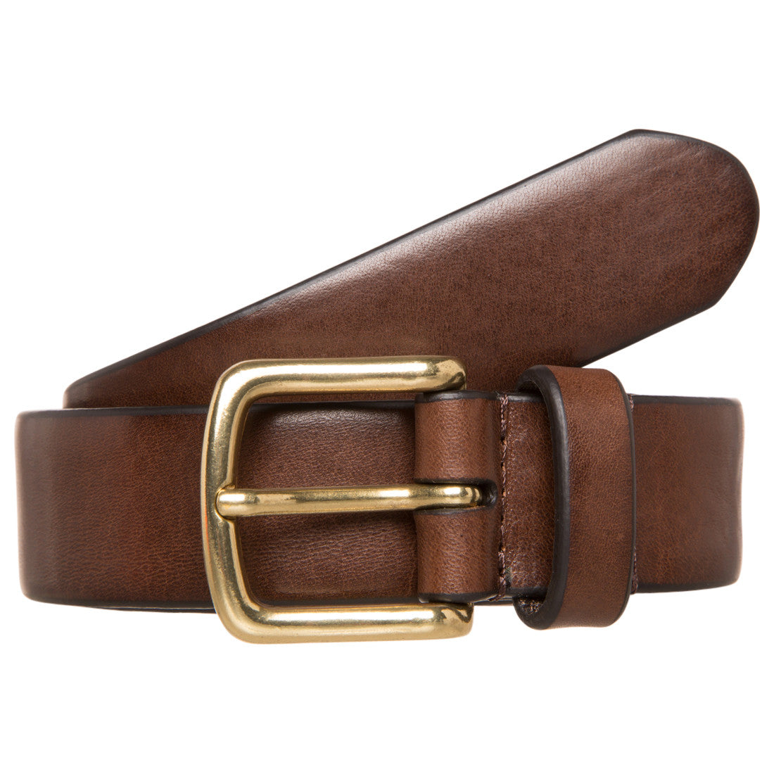 Gents Leather Belt - Eagle