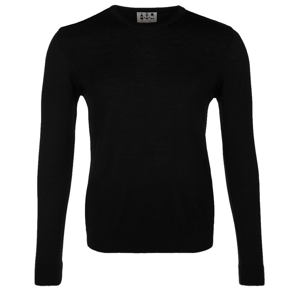Extra Fine Merino Jumper - Panther