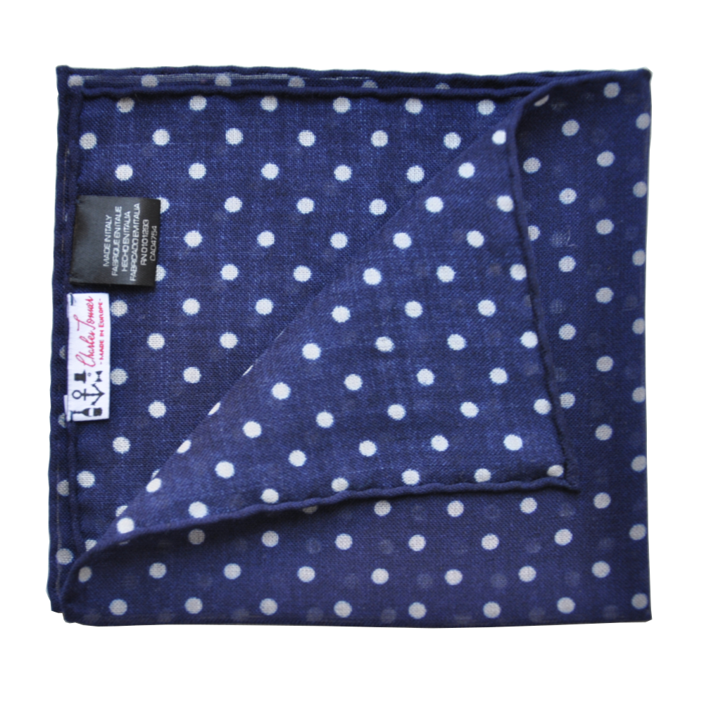 Pocket Square - Blue Marlin I