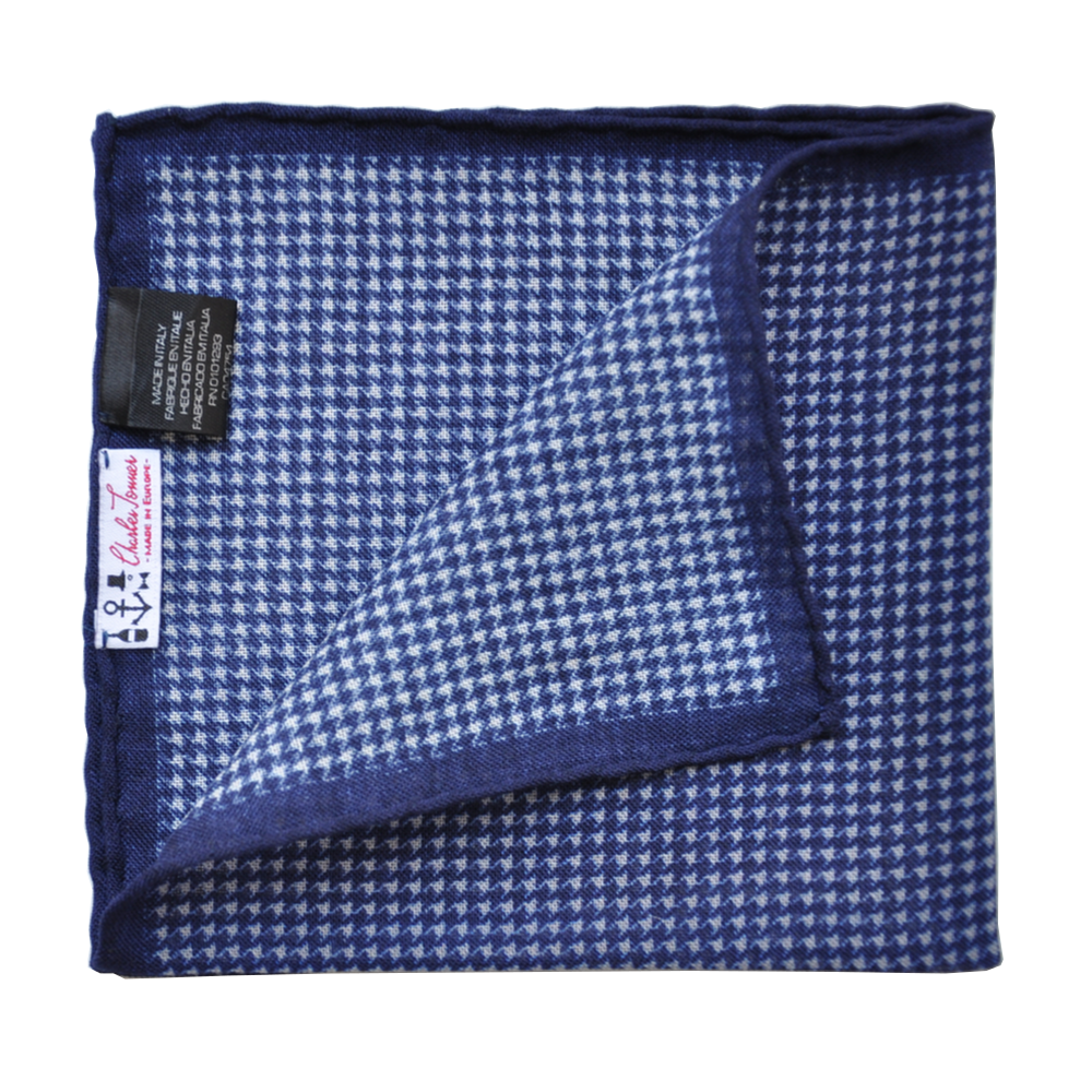 Pocket Square - Blue Marlin II