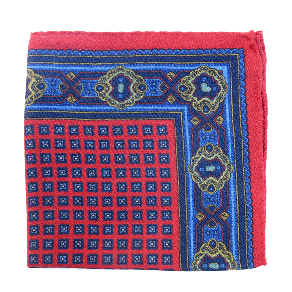 Pirate Style Pocket Square - Parrot