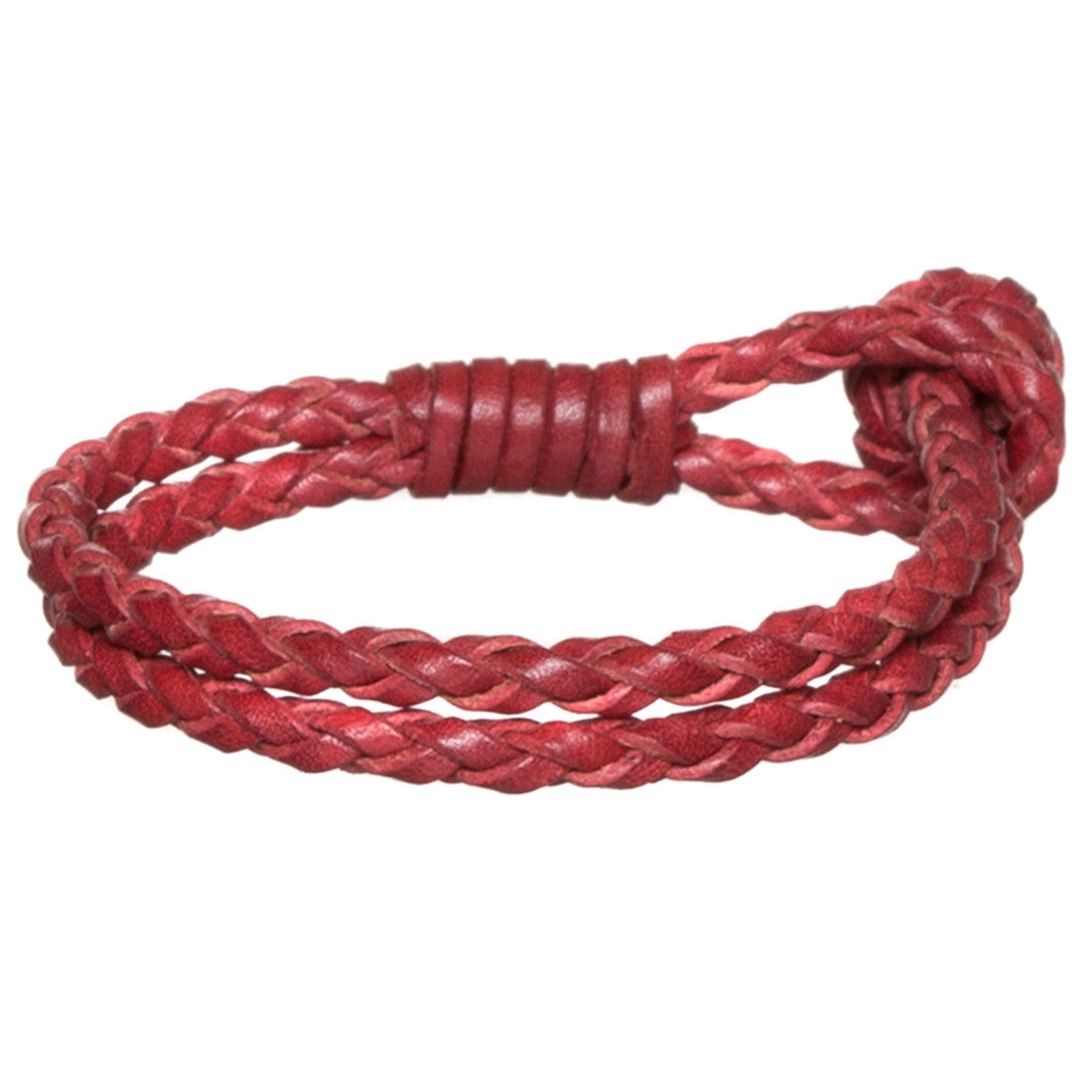 Gipsy Leather Bracelet - Lobster