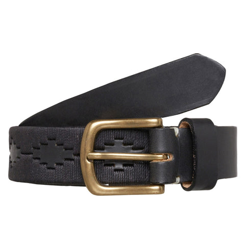 Gaucho Leather Belt - Panther
