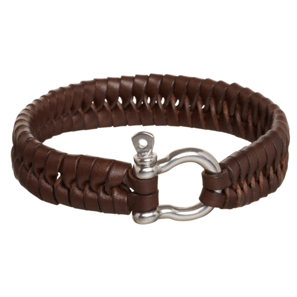 Sailors Leather Bracelet - Eagle