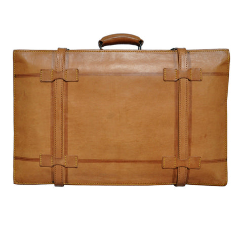Vintage Suitcase - Anchor Print