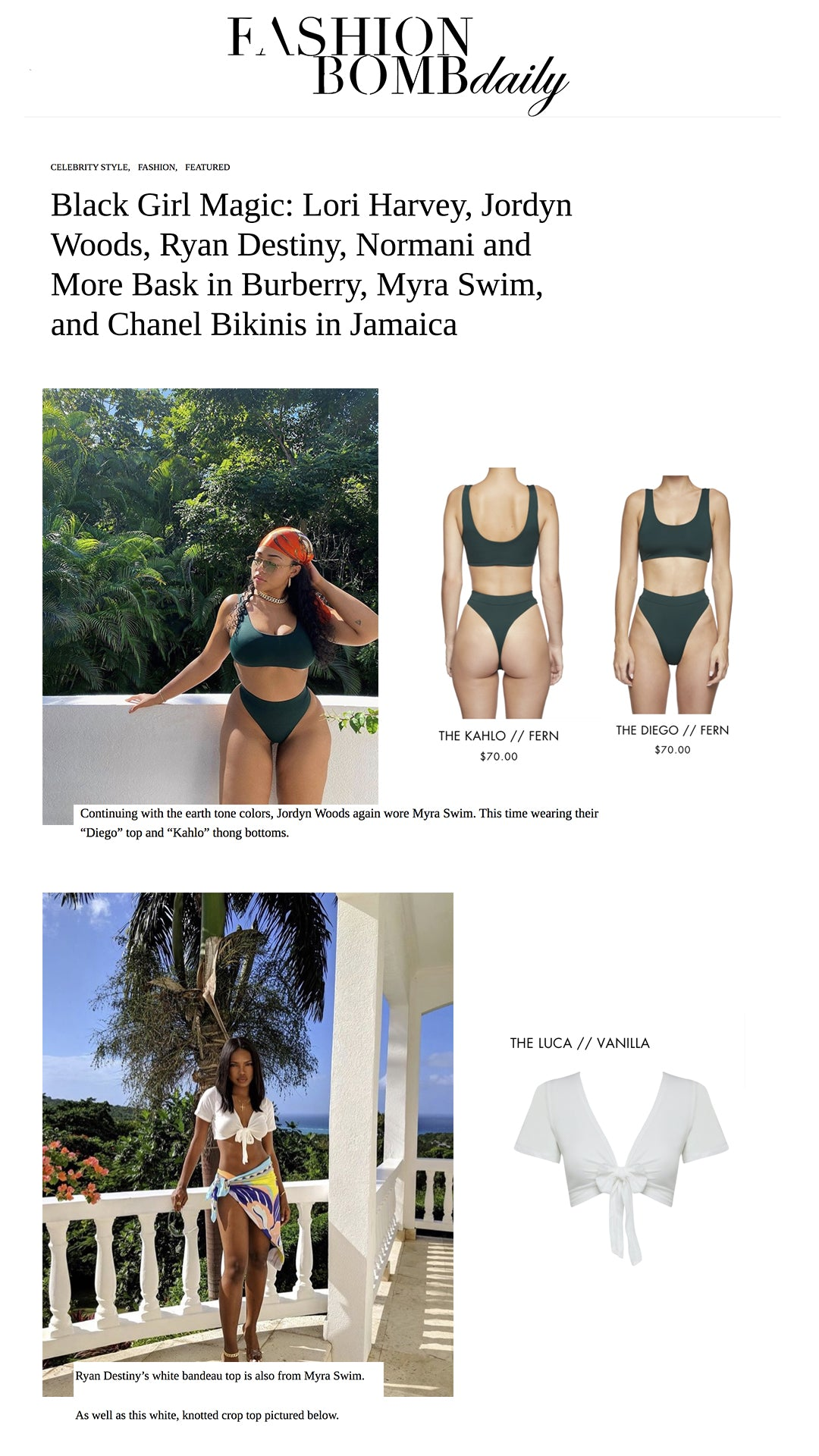 fashion bomb daily swimsuits