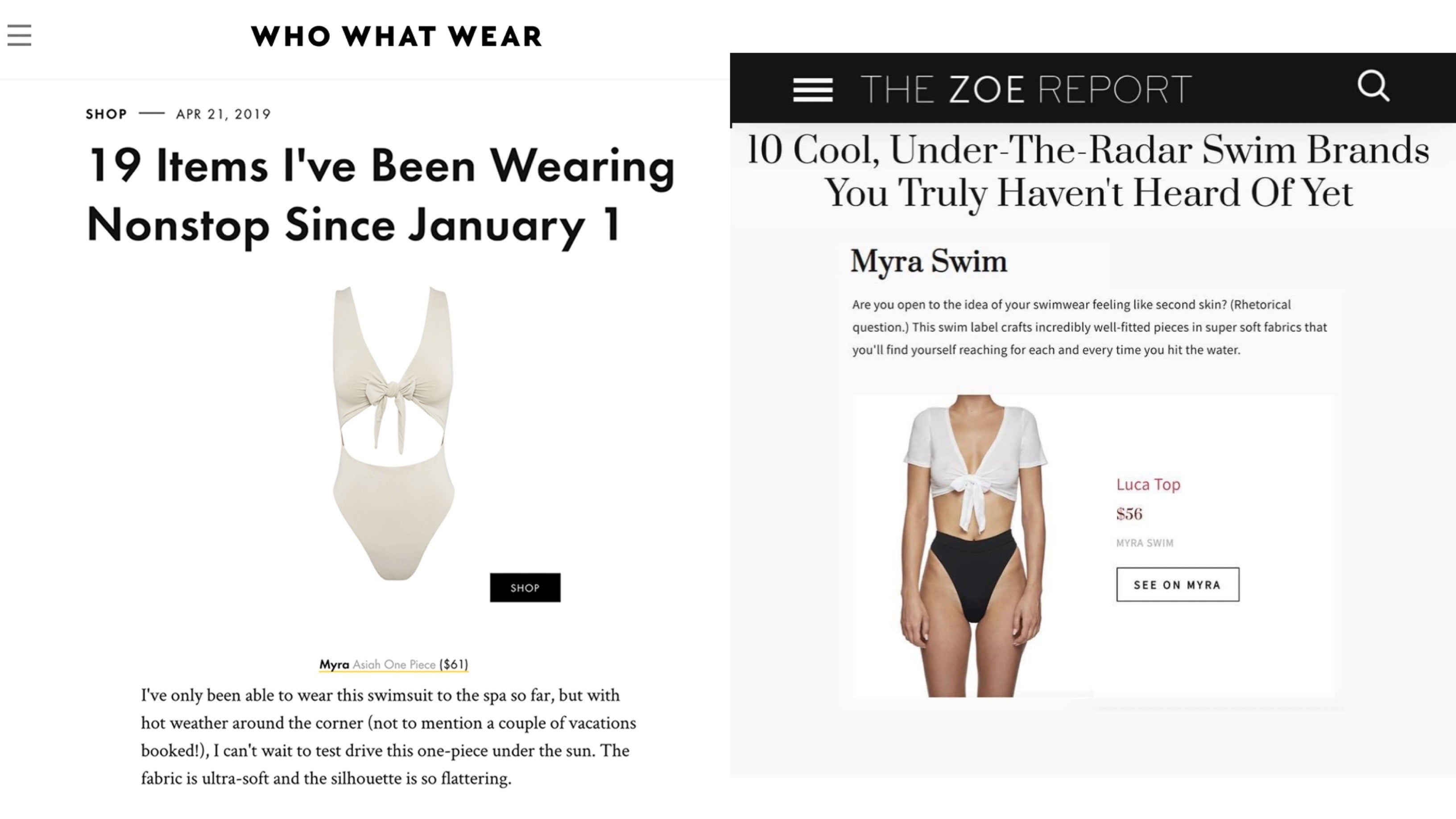 who what wear zoe report