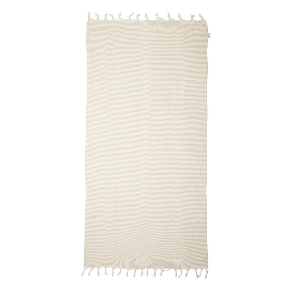 Mayde Noosa Turkish Towel - Beige