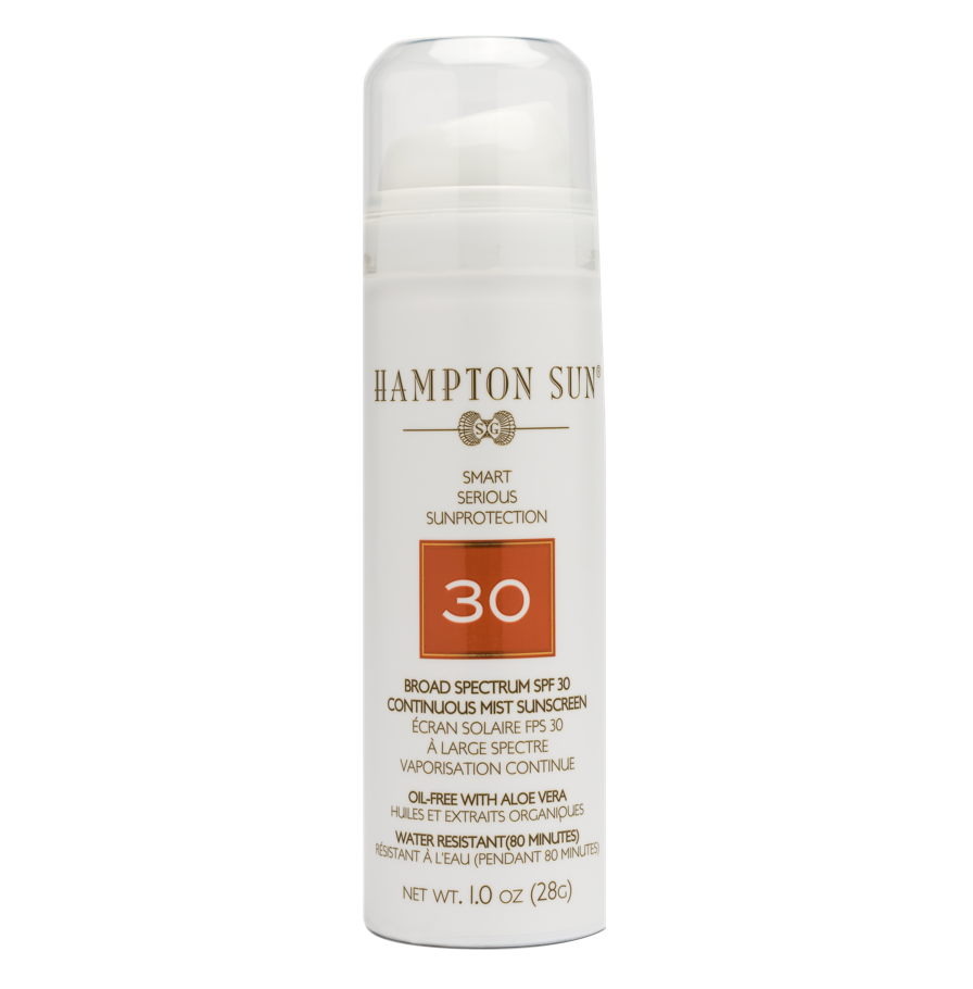 HAMPTON SUN - SPF 30 Continuous Mist 1 oz. Travel size