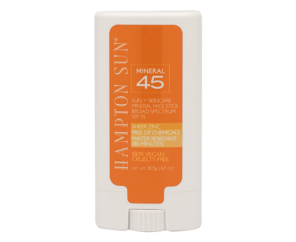 HAMPTON SUN - NEW SPF 45 Mineral Face Stick