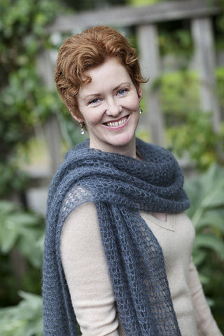Kelly's Frothy Crocheted Scarf