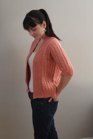 Spring Ribbed Cardigan