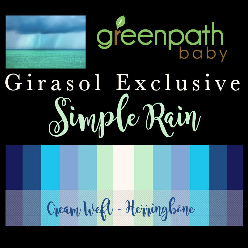GreenPath Baby's First Girasol Exclusive - Simple Rain