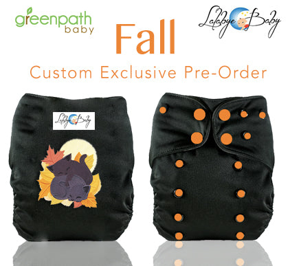Lalabye Baby Fall Exclusive Diaper Fall Kittens