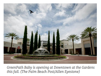 GreenPath Baby Coming to Downtown at the Gardens This Fall