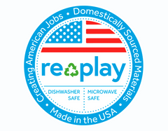 Re-Play recycled kids tablewear